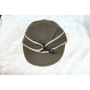 The Original Stormy Kromer Olive Green Wool  7.5